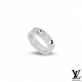 Louis Vuitton Empreinte Diamond Ring Q9A01A